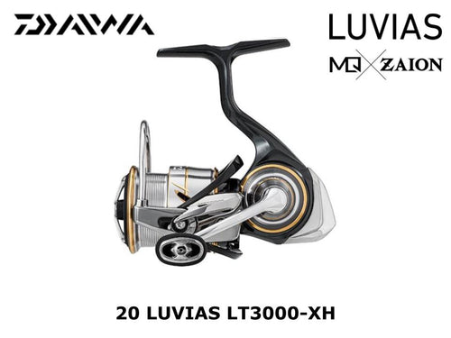 Daiwa 20 Luvias LT 3000 - XH coming in March
