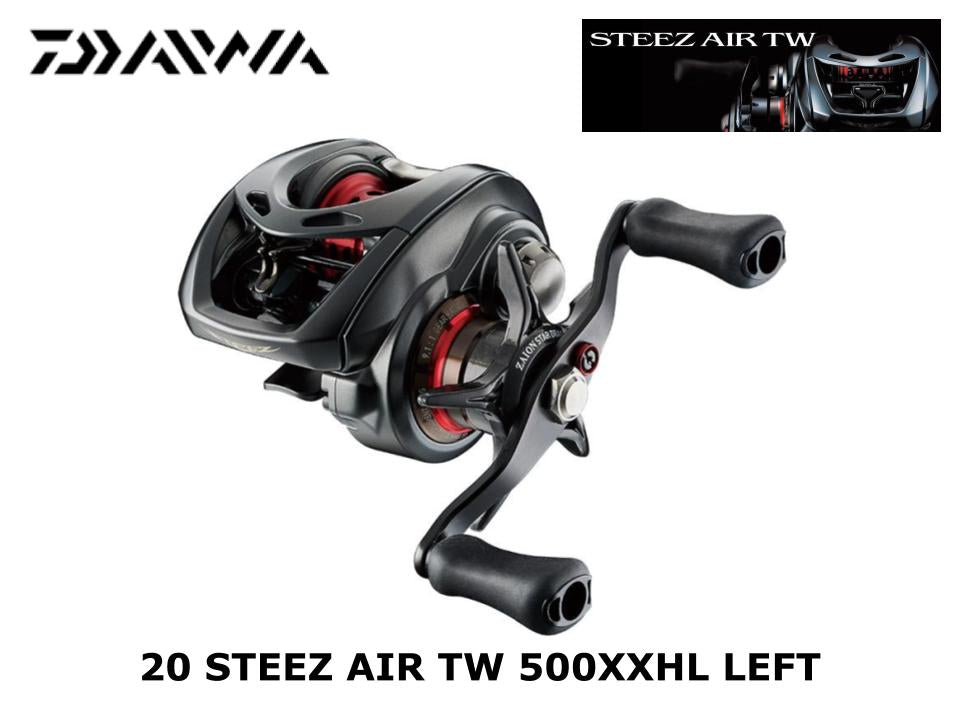 Pre-order Daiwa 20 Steez Air TW 500XXHL Left  End of Jan or Beginning of Feb