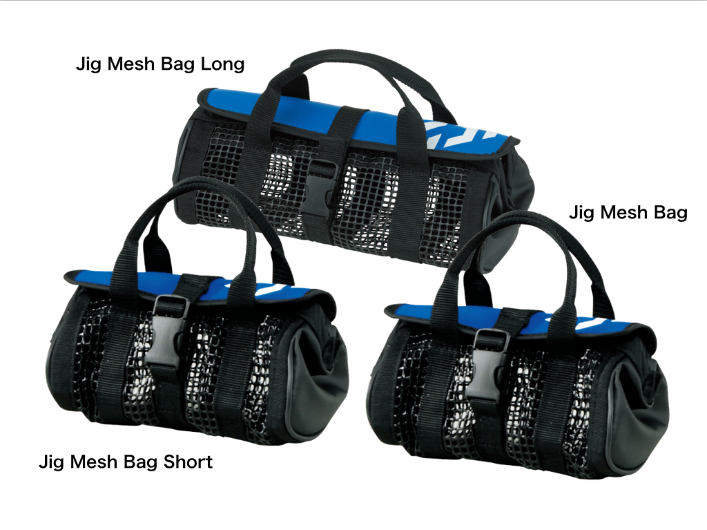 DAIWA Jig Mesh Bag (A) blue 3 size variations saltwater tackle bag