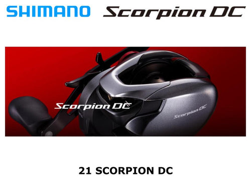 Shimano 21 Scorpion DC 150HG Right coming in April