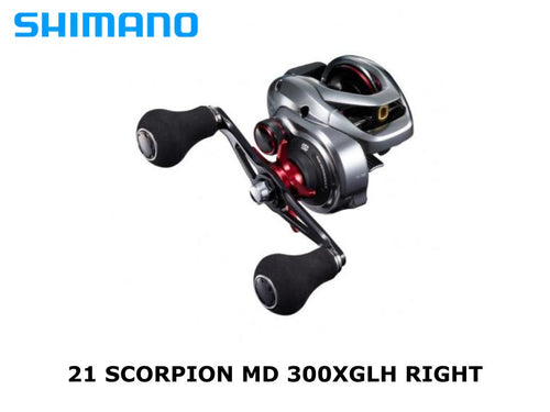 Shimano 21 Scorpion MD 300XGLH Right coming in May