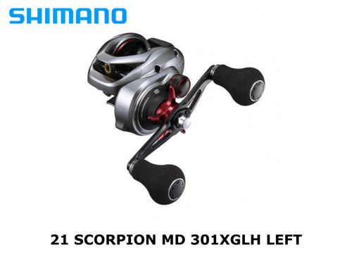 Shimano 21 Scorpion MD 301XGLH Left coming in June