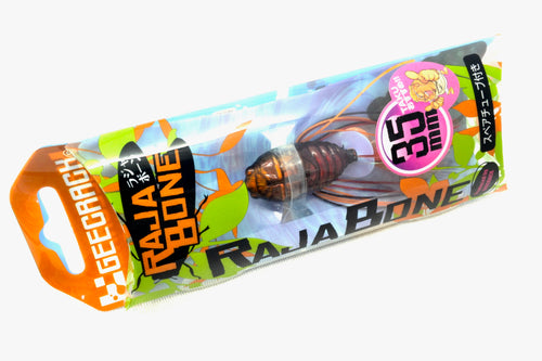 Free Shipping! Gee Crack RAJA BONE 35mm 4.5g #004 Sunset Aburazemi