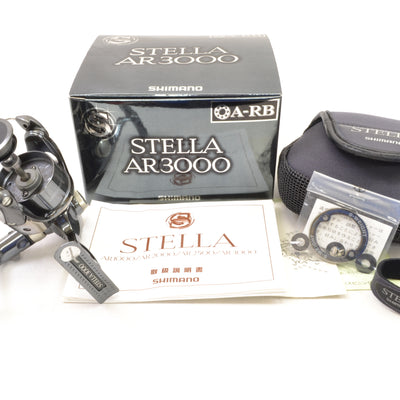 Used Shimano 01 Stella AR3000 ** No Spool
