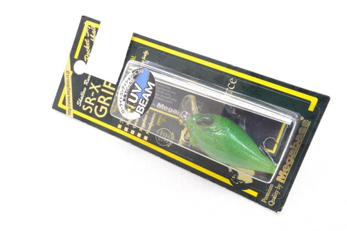 Megabass SR-X Griffon UV Beam #49 UV Impact Lime 45mm 1/4oz