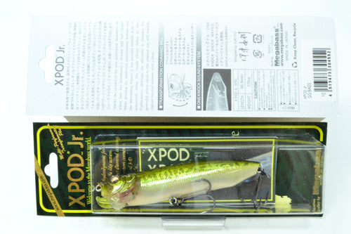 Megabass X Pod Jr #10 GG Bass 90.5mm 1/2oz