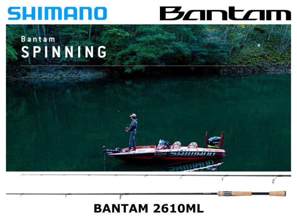 Shimano Bantam Spinning 2610ML