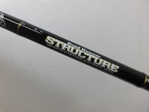Used Nories Road Runner Structure Baitcasting Model ST680MH Mid Cover Texas