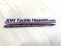 JDM Tackle Heaven Sticker size: S 15cm x 5cm