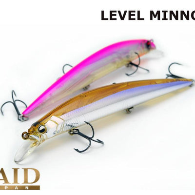 Raid Japan Level Minnow #LM004 Real Kinkuro 125.0mm 1/2oz class