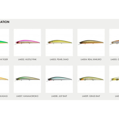 Raid Japan Level Minnow #LM005 Gloss Wakasagi 125.0mm 1/2oz class