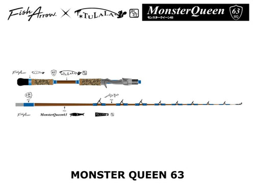 Fish Arrow x Tulala Monster Queen 63 [coming in June]