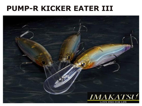 Pump-R Kicker Eater III #408 Silver Flash Ayu 9cm 15g