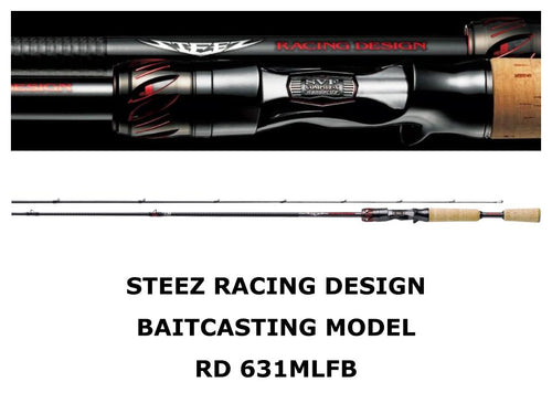 Daiwa Steez Racing Design Baitcasting Model STZ RD 631MLFB