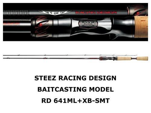 Daiwa Steez Racing Design Baitcasting Model STZ RD 641ML+XB-SMT