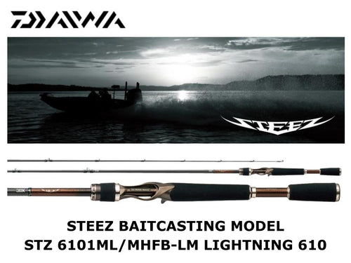 Sale! Daiwa Steez Casting STZ 6101ML/MHFB-LM LIGHTNING 610