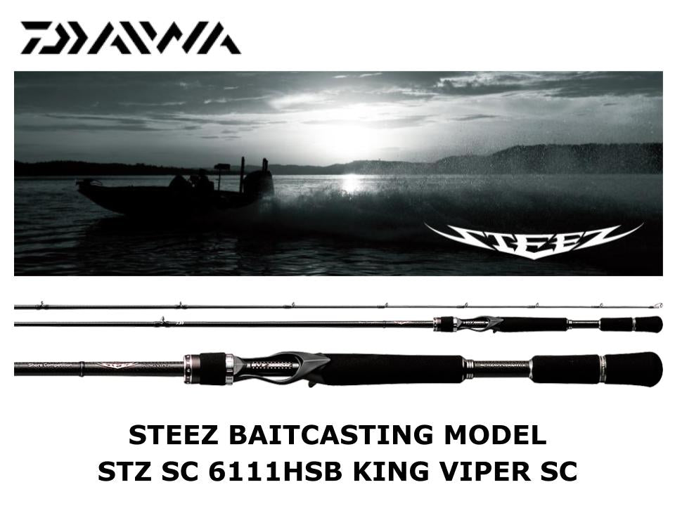 Daiwa Steez Casting STZ SC 6111HSB King Viper Shore Competition Model
