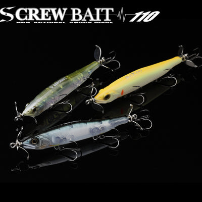 SCREW BAIT 110 Type-SS #01 Ja Ayu 110mm 11/16oz class