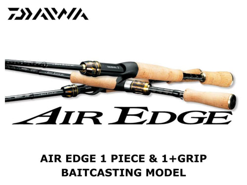 Daiwa Air Edge 721HB E 1 and grip baitcasting model