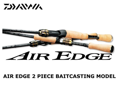Daiwa Air Edge 662MLB E 2 piece baitcasting model