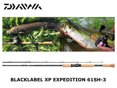 Daiwa Blacklabel XP Expedition BL-XP61SH-3