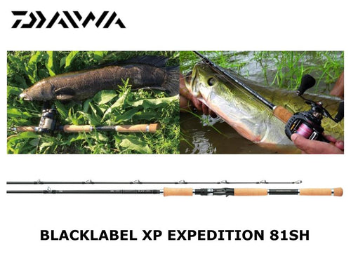 Daiwa Blacklabel XP Expedition BL-XP81SH