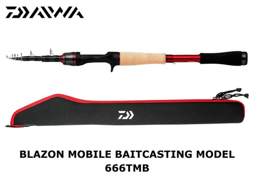 Daiwa Blazon Mobile Baitcasting Model 666TMB