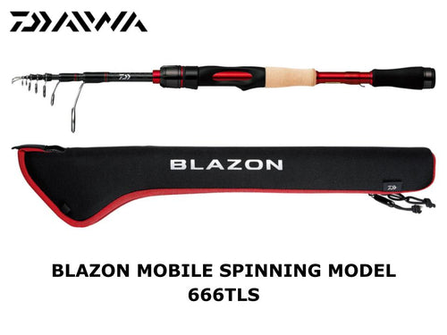 Daiwa Blazon Mobile Spinning Model 666TLS