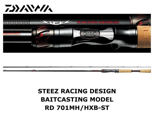 Daiwa Steez Racing Design Baitcasting Model STZ RD 701MH/HXB-ST