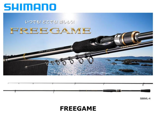 Shimano Freegame S86ML-4
