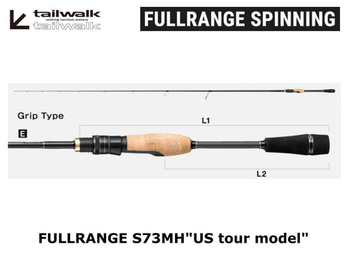 "Tailwalk Fullrange S73MH""US tour model"""