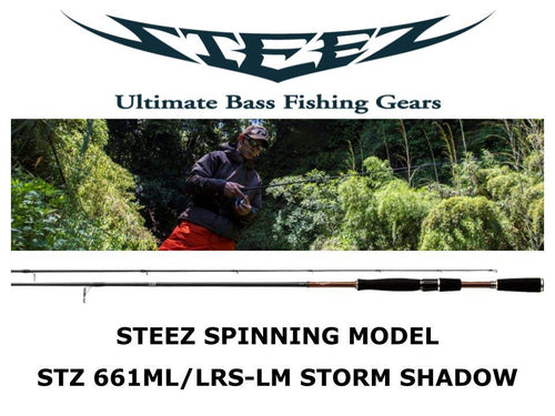 Daiwa Steez Spinning STZ 661ML/LRS-LM STORM SHADOW