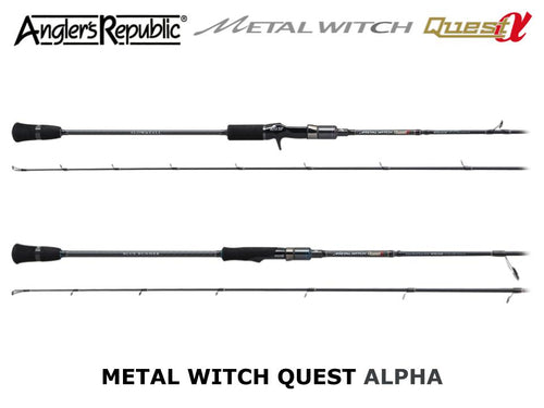 Angler's Republic Metal Witch Quest Alpha MTTC-634SF