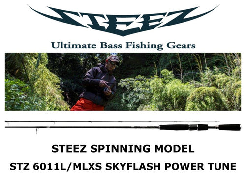 Sale! Daiwa Steez Spinning STZ 6011L/MLXS SKYFLASH POWER TUNE