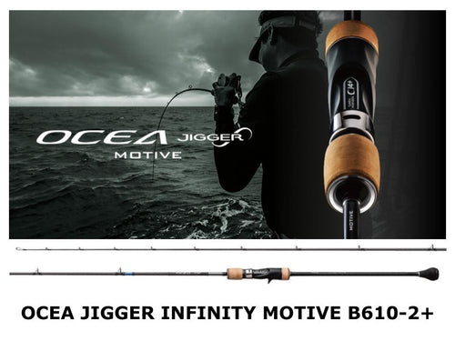 Pre-Order Ocea Jigger Infinity Motive B610-2+ on sale in May