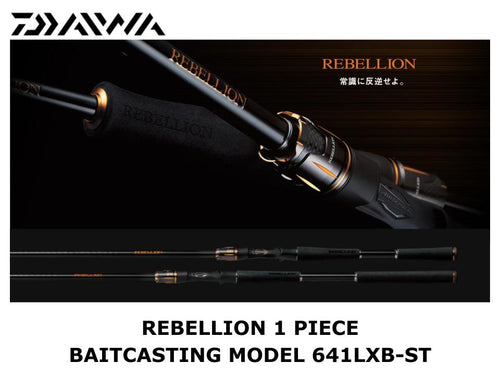 Daiwa Rebellion 1 Piece Baitcasting Model 641LXB-ST