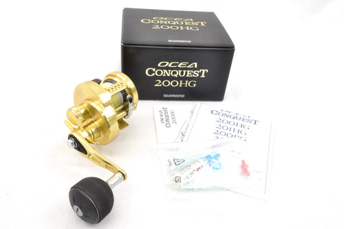 Used Shimano 14 Ocea Conquest 200HG Right