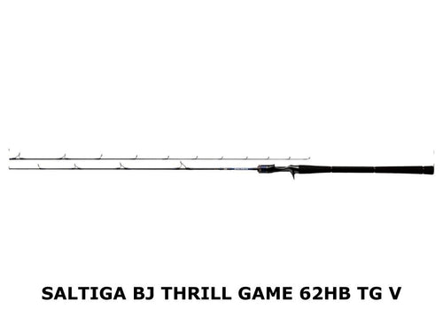 Daiwa Saltiga BJ Thrill Game 62HB TG-V