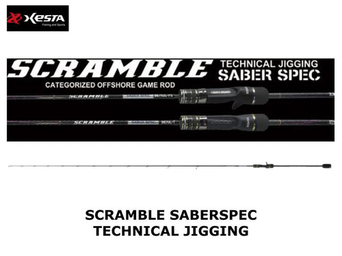 Xesta Scramble Saber Spec Technical Jigging B67UL-T