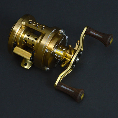 Megabass TRUMPET TAPER WOOD KNOB rose color reel parts