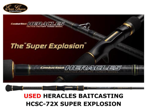 Used Evergreen Heracles Baitcasting HCSC-72X Super Explosion