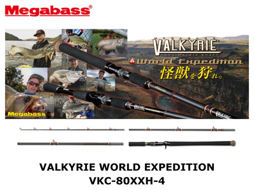 Megabass Valkyrie World Expedition VKC-80XXH-4