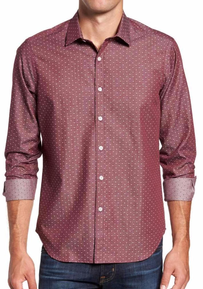 Mens long sleeve Napa shirt