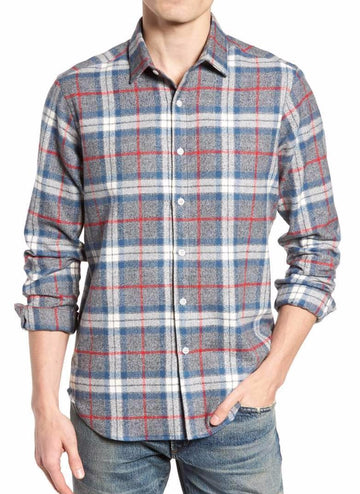 Brattleboro long sleeve flannel shirt