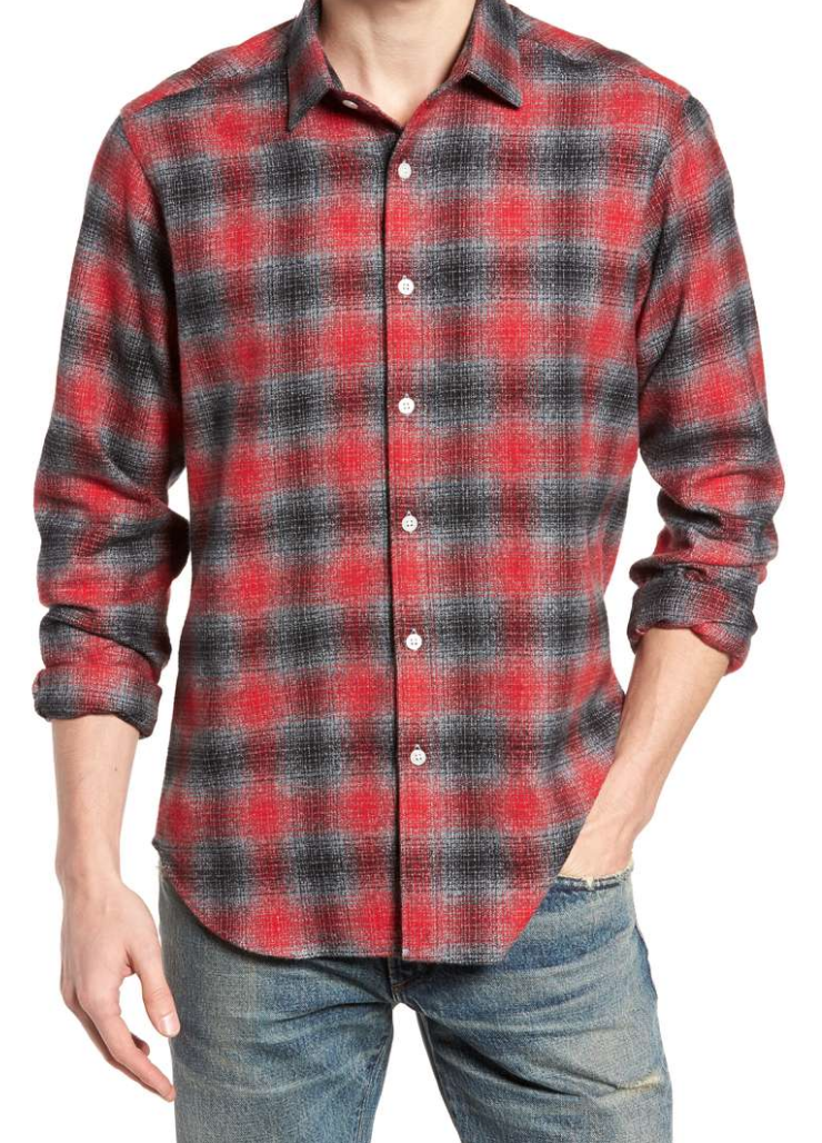 Stowe long sleeve Flannel shirt