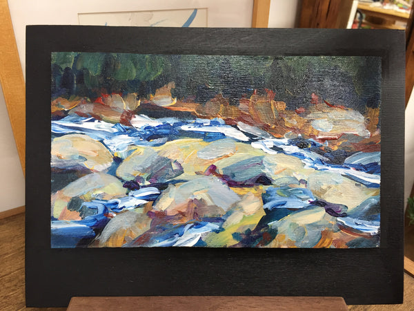 Painting - Rocky River