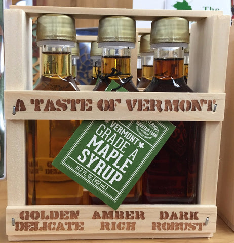 Maple Syrup Sampler Crate