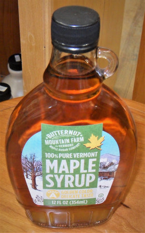 Maple Syrup 12oz Bottle