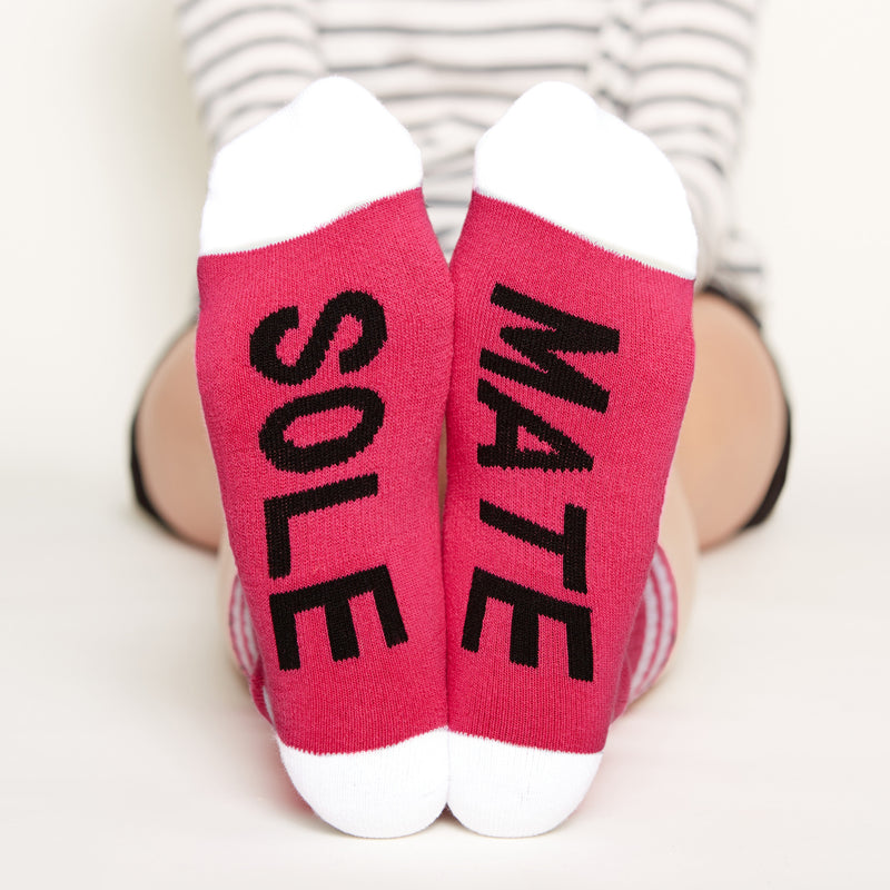 Sole Mate Socks bottom front view