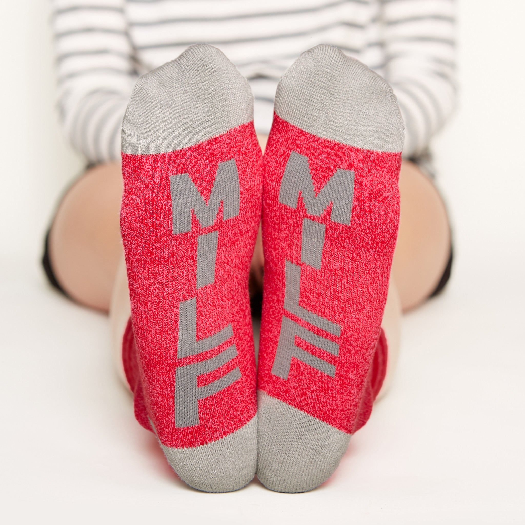 Socks for Mom Gift Set #1, milf bottom front view